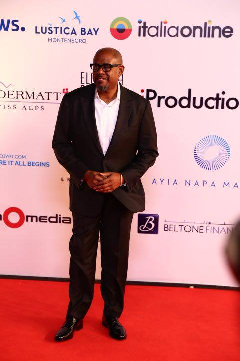 Forest Whitaker on red carbet