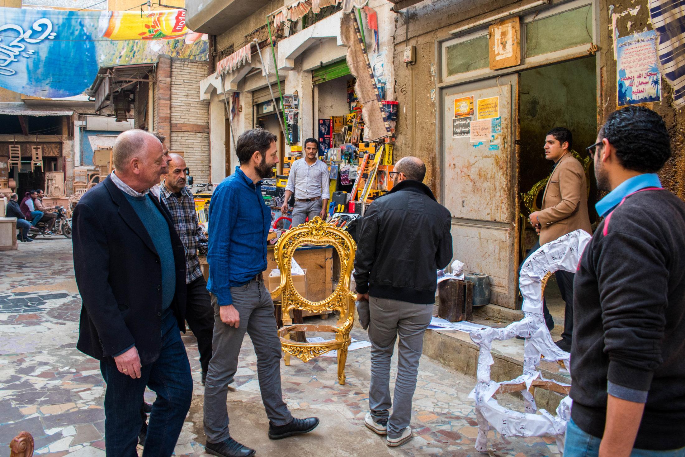 Visiting the traditional suq of Damietta where furniture is produced – Suq Abdel Rahman