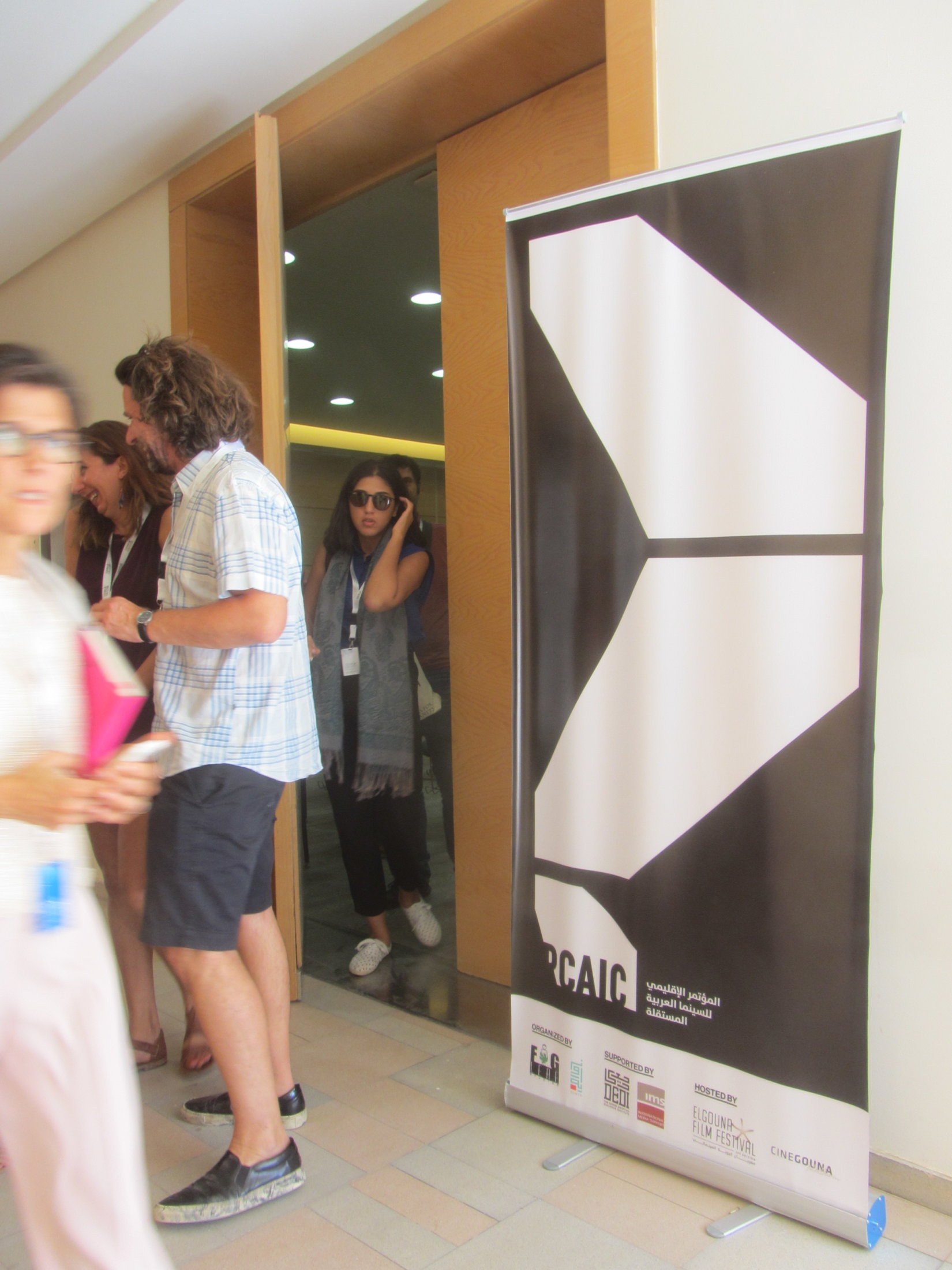 Before attending The Regional Conference for Arab Independent Cinema (RCAIC)